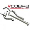 Catback výfuk Cobra Sport Renault Megane RS250 / 265 Cup (09-) - verzia bez rezonátora