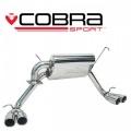 Catback výfuk Cobra Sport Toyota MR2 Roadster (99-07) - okrúhle koncovky