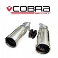 Koncovky výfuku Cobra Sport Land Rover Range Rover Sport (05-09) - guľaté