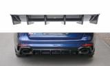 Stredový spojler pod zadný nárazník Audi RS4 B9 Avant 2017 -