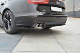 Bočné spojler pod zadný nárazník Audi A6 C7 Sedan/Avant 2011-2014