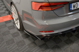 Bočné spojler pod zadný nárazník Audi S5 F5 Coupe 2017 -