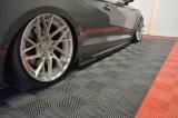 Nástavce prahov Audi S5 F5 Coupe 2017 - Audi A5 S-Line F5 Coupe 2017 -