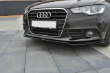 Spoiler pod predný nárazník Audi A6 C7 2011-2014