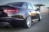 Bočné spojler pod zadný nárazník Audi A6 S-Line C6 Sed./Ava. 04-08  A6 S-Line C6 FL Sed./Ava. 08-11