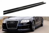 Nástavce prahov Audi RS6 C6 2008-2010