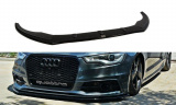 Spoiler pod predný nárazník Audi S6 C7 2012-2014 Audi A6 S-Line C7 2011-2014