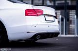 Bočné spojler pod zadný nárazník Audi A8 D4 2009- 2013 Maxtondesign