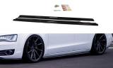 Nástavce prahov Audi A8 D4 2009- 2013