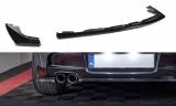 Stredový spojler pod zadný nárazník BMW 1 E81/ E87 M-PACK FACELIFT 2007- 2011