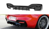 Stredový spojler pod zadný nárazník Bmw 1 F20/ F21 Facelift M-Power 2015-