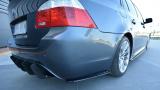 Bočné spojler pod zadný nárazník BMW 5 E61 M-PACK 2003 - 2010