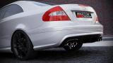 Zadný nárazník Mercedes CLK-Class W209 Standard Versions 2002-2009