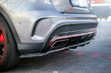 Stredový spojler pod zadný nárazník MERCEDES-BENZ GLA 45 AMG SUV (X156) PREFACE (2014-2017)