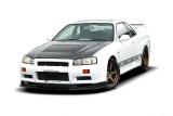 Predný difúzor Nissan Skyline R34 version GTT vith 002299-1 bumper 1998-2002