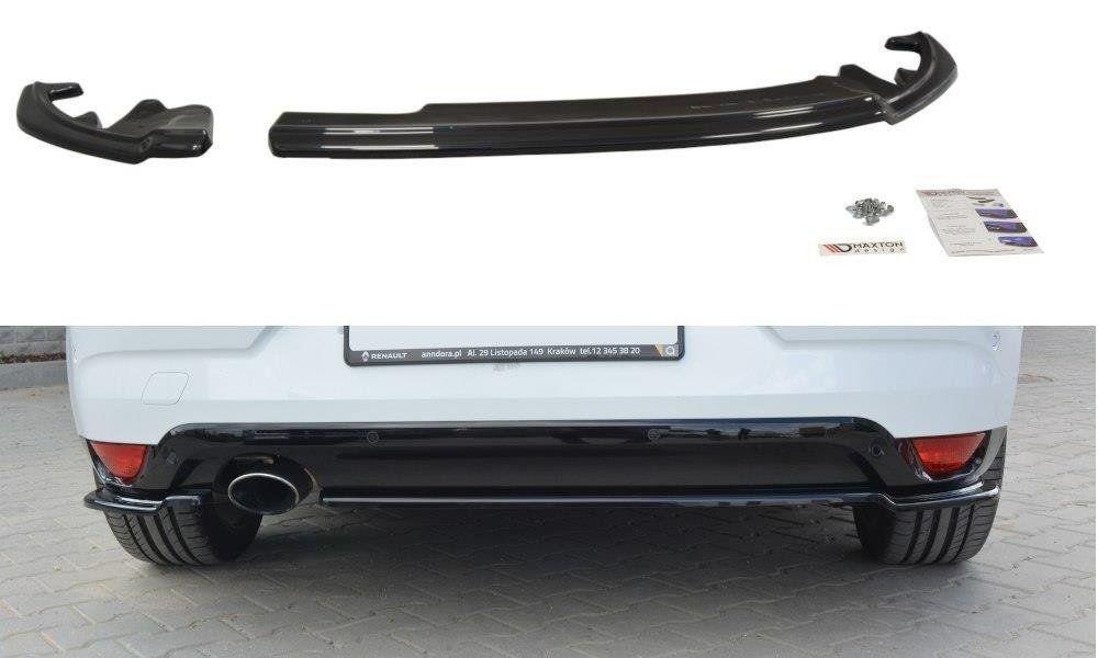 Bočné spojlery pod zadný nárazník Renault Megane Mk4 Hatchback 2016- Maxtondesign