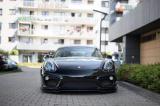 Predný spojler nárazníka Porsche Cayman Mk2 981 Coupe 2012-