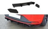 Bočné spojlery pod zadný nárazník+Zadný difúzor SEAT LEON III CUPRA 2012-2016