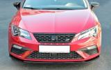 Predný spojler nárazníka Seat Leon Mk3 Cupra/ FR Facelift 2017-