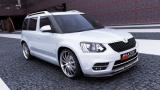 Predný spojler nárazníka Škoda Yeti CITY version 2013 -