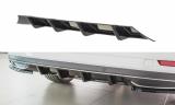 Stredový spojler pod zadný nárazník Škoda Superb Mk3 Facelift 2019 -