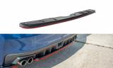 Stredový spojler pod zadný nárazník Subaru WRX STI 2014 -