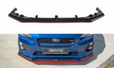 Predný spojler nárazníka Subaru WRX STI 2014 -