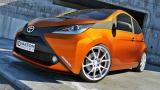 Predný spojler nárazníka Toyota Aygo standard version 2014 -