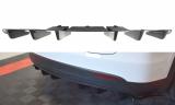 Stredový spojler pod zadný nárazník TESLA MODEL X 2015-