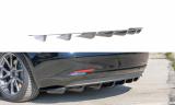 Stredový spojler pod zadný nárazník Tesla Model 3 2017-