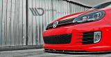 Predný spojler nárazníka VW Golf VI GTI 35TH 2008-2012