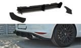 Bočné spojlery pod zadný nárazník+Zadný difúzor VW Golf mk7 GTI version 2012 -
