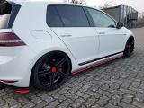 Nástavce prahov VW GOLF Mk7 GTI CLUBSPORT 2016- 2017