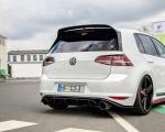 Stredový spojler pod zadný nárazník VW GOLF Mk7 GTI CLUBSPORT 2016- 2017