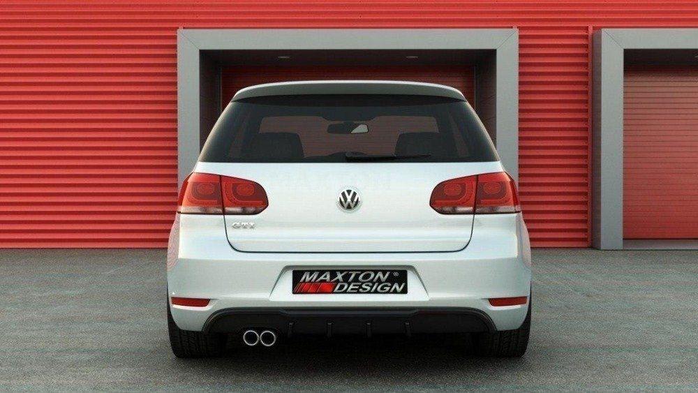 Stredový spojler pod zadný nárazník VW Golf VI GTI 2008 - 2012 Maxtondesign