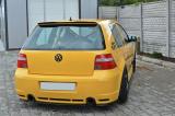 Stredový spojler pod zadný nárazník VW GOLF IV R32 2002-2004 Maxtondesign