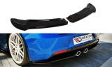 Bočné spojlery pod zadný nárazník VW Golf VI R 2008-2012