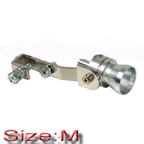 Imitace turbo efektu / blow off ventilu / píšťala do výfuku - velikost M (Ø 37-48mm) TurboWhistler