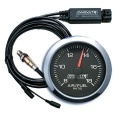 Prídavný budík Innovate Motorsports G5 + LC-2 O2 kontrolér - wideband kit (širokopásmová lambda sonda) - čierny
