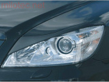 """Kryty světlometů (mračítka) """"Bad look"""", Octavia II. Facelift Lim./Combi/RS, 2008-2012"""