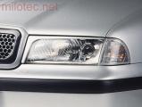Mračítka (kryty světlometů), černá, Škoda Octavia I. 1997-2000