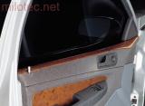 Dekor dveří horní - ABS s povrchem kořenového dřeva, Fabia I. Combi 2000-2007