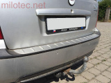 Práh pátých dveří s výstupky, stříbrný matný, Fabia I. Combi/Sedan 2000-2007