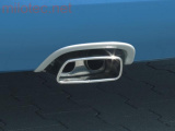 Koncovka výfuku s rámečkem, Roomster 2006-2010 / Roomster Facelift od r.v. 04/2010 - Diesel