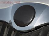 Kryt emblému - přední, černá metalíza, Citigo od r.v. 2012