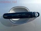 Kryty klik - plné, černá metalíza, (2+2 ks jeden zámek), Roomster 2006-2010 / Roomster Facelift od r