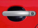Kryty klik - plné, stříbrné matné, (2+2 ks dva zámky), Roomster 2006-2010 / Roomster Facelift od r.v