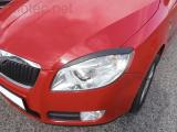 Kryty světlometů (mračítka), černé, Škoda Roomster 2006-2010