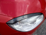 Kryty světlometů (mračítka), karbon design, Fabia II. Lim./Combi/Scout 2007-2010, Roomster/Scout 200