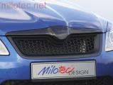 Sportovní maska s černou mřížkou, Fabia II. Facelift Lim./Combi 2010-2014, Roomster Facelift od r.v.